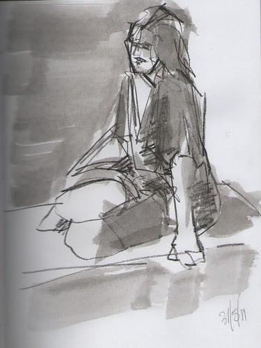 quick life sketches 001 by dibujandoarte