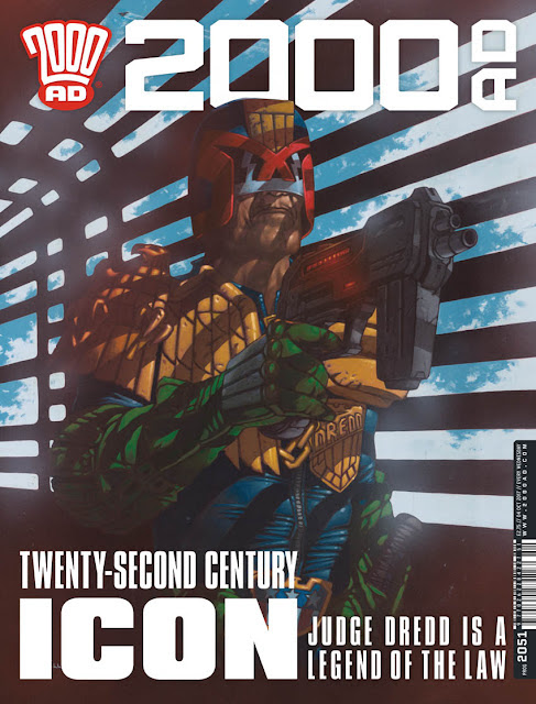 Coming up in 2000AD...