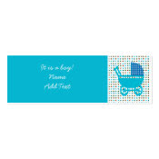 Baby Birth Announcement minicard profilecard
