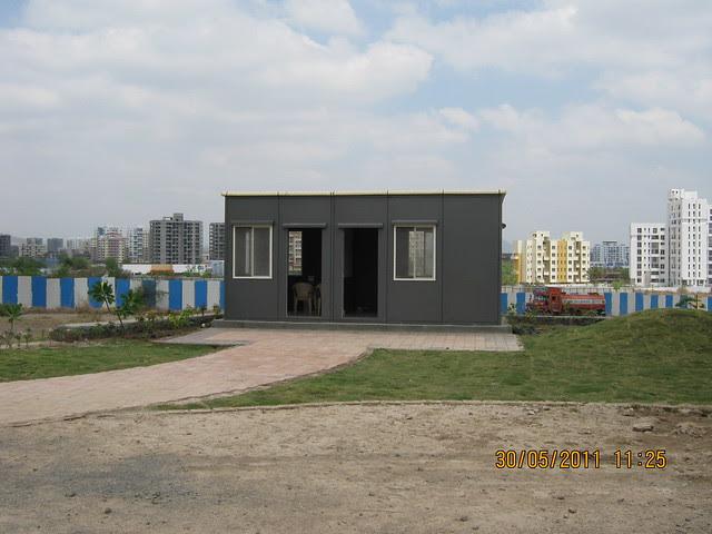 Site office of Reelicon Alpine Ridge 2 BHK 2.5 BHK 3 BHK Flats near Pancard Club Baner Pune