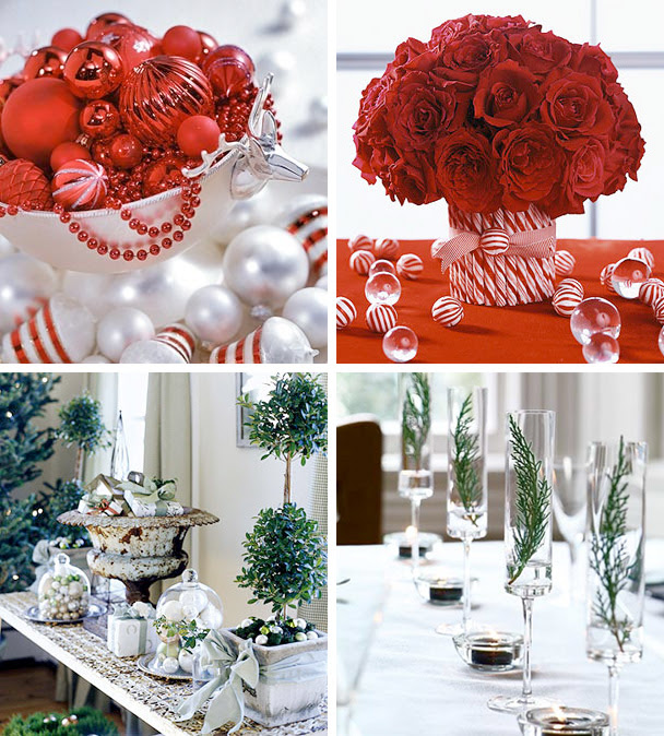 50 Great & Easy Christmas Centerpiece Ideas | DigsDigs