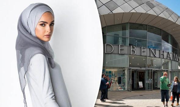 Debenhams to sell the hijab