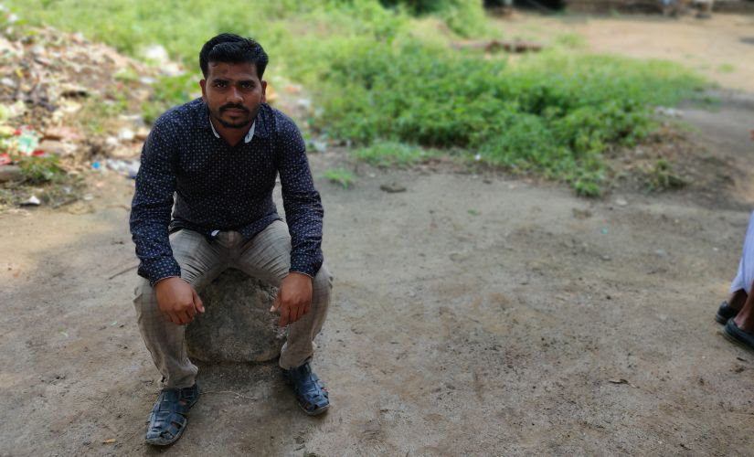 25-year-old Mukesh Jhine is a resident of Harshi Bk, a village in Aurangabad's Paithan district of Maharashtra and his ordeal is a representation of the condition of majority of the farmers in the rural areas of the district. Image/Parth MN