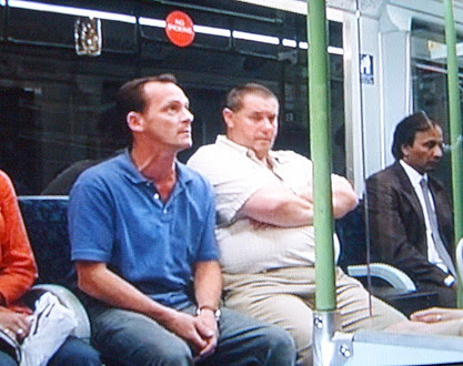 Billy Mitchell on the Tube