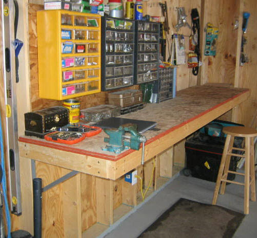 Wooden Work Bench Kits | How To build a Amazing DIY Woodworking ...