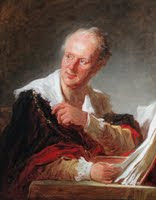 Portrait of Denis Diderot, by Fragonard
