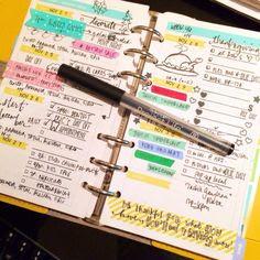 Coloursnme: Rilakkuma Inspired week in my Kikki-K Fuchsia Personal ...