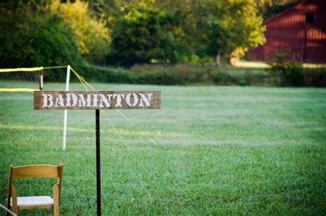 lawn games   backyard wedding rustic wedding chic
