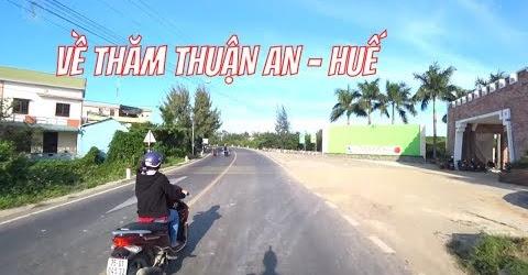 Biển Thuận An Huế Có Người Bất Thường Trời Tháng 12 Này Mà Dẫn Mọi Người Về Thăm
