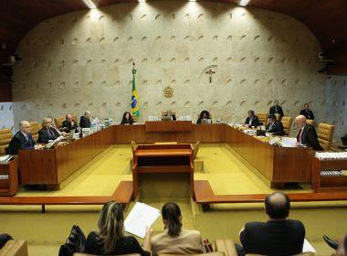 Em decisão provisória, STF proíbe assembleias de revogarem prisões de deputados