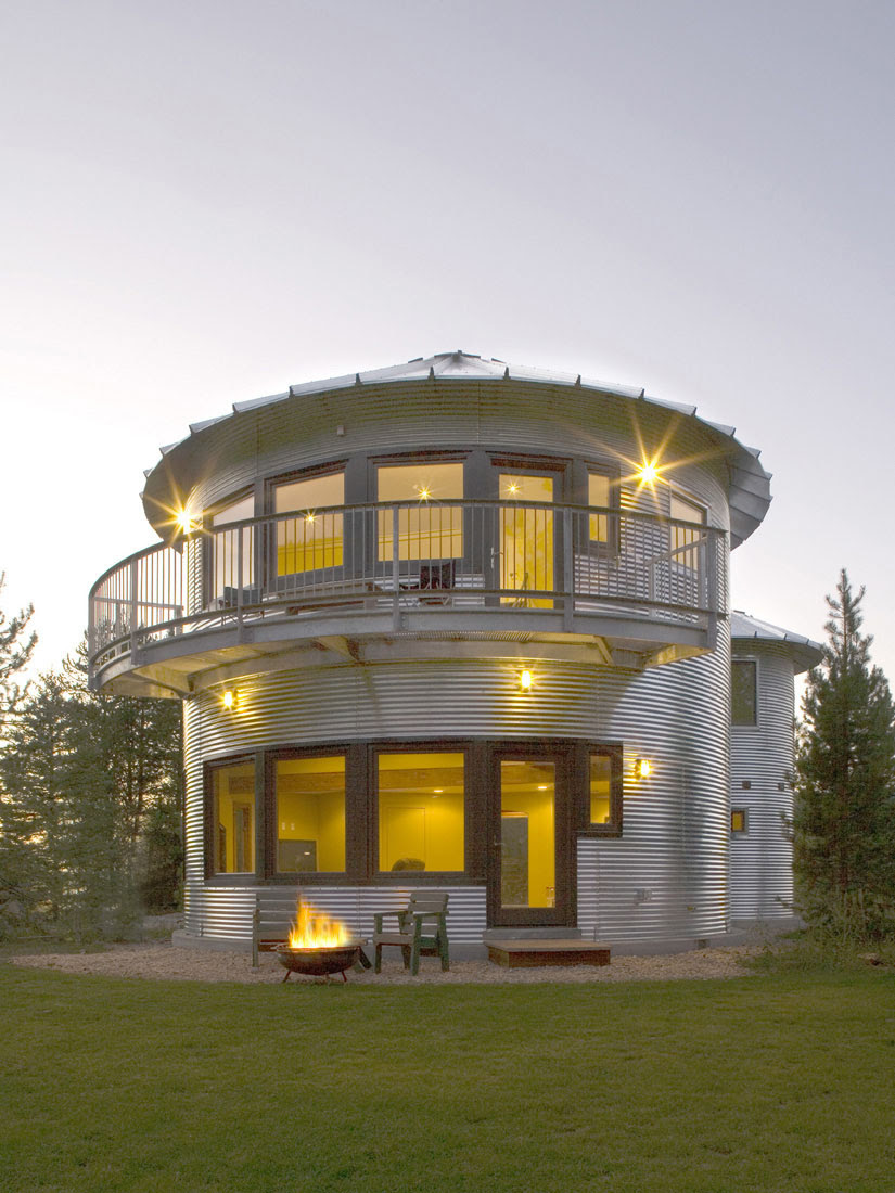 Your Dream House: Build An Inexpensive Home Using Grain Silos