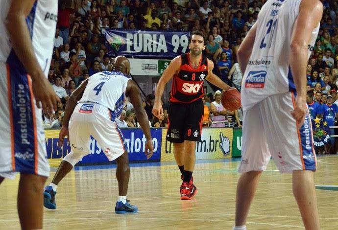 Bauru Flamengo NBB basquete (Foto: Henrique Costa / Bauru Basket)