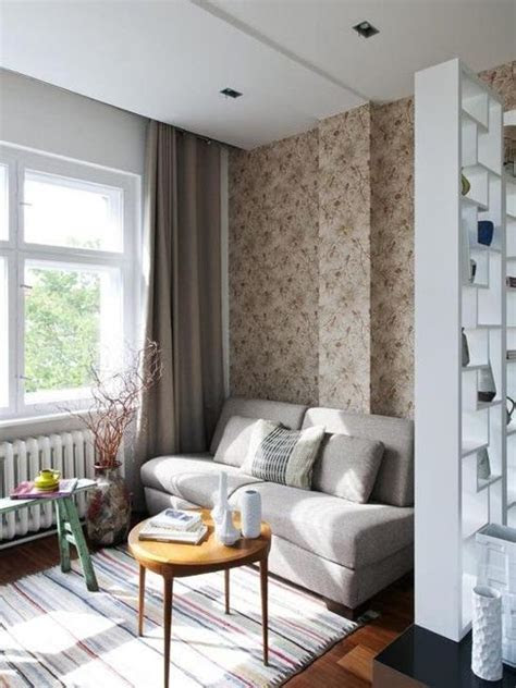 modern interior design  small rooms  space saving