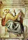 Michelangelo. The Prophet Zechariah.