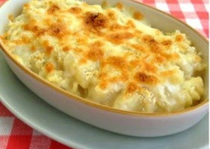 Step-by-Step Guide to Prepare Any-night-of-the-week Macaroni Gratin with Soy Milk & Rice Flour