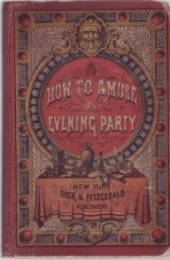 Cover of How to Amuse an Evening Party