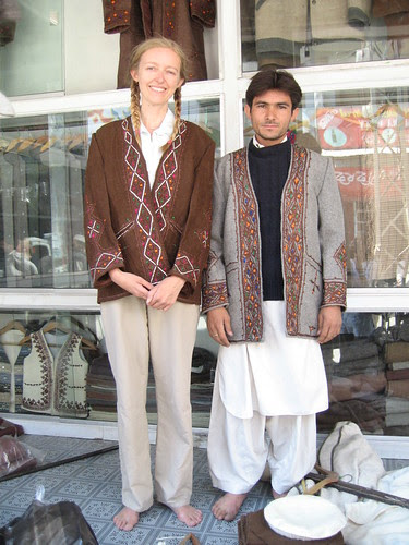 Iqrar Cap House and the tailor I bought my coat from, New Bazaar, Chitral