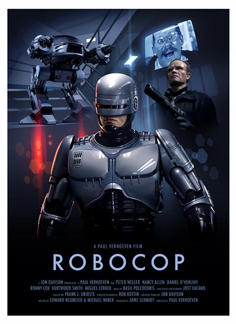 Robocop by Brian Taylor