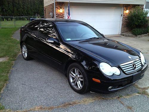 Buy used 2002 Mercedes-Benz C230 KOMPRESSOR Coupe 2-Door 2 ...