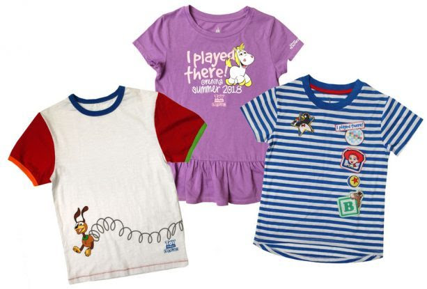 Kids Toy Story Land Shirts ©Disney