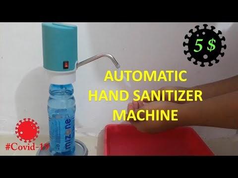 Membuat Hand Sanitizer Otomatis dari Modifikasi Dispenser Elektrik