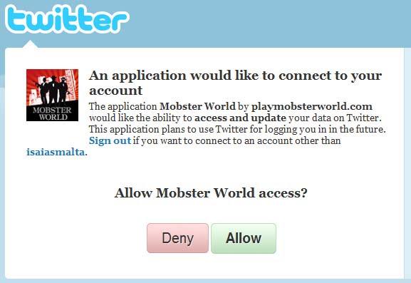 Allow Twitter Spammer