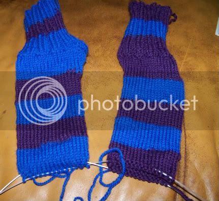 Socks on Blog