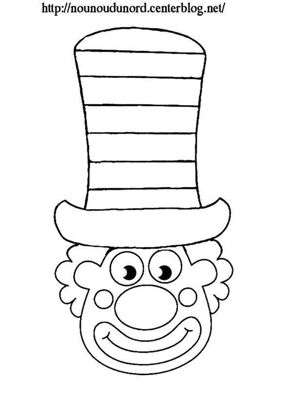 Coloriage Clown Drole.Meilleur Coloriage Tete De Clown Coloriages A Imprimer