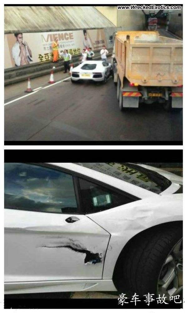 Lamborghini Aventador vs. Big Truck