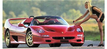 Colaboradora Ferrari
