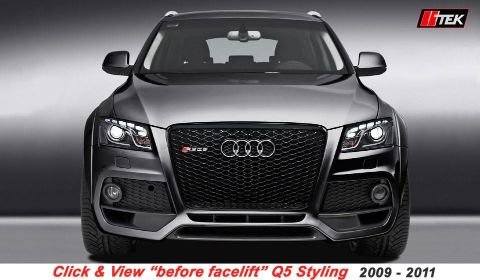 2010 Audi Q5 Body Kit