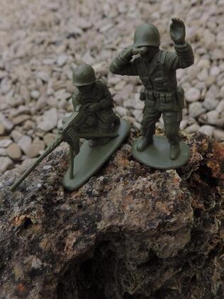 Petits soldats....