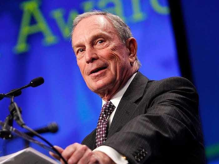 AGE 73: Michael Bloomberg