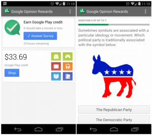 download google opinion rewards apk, how to earn free google play credits, how to get free cash on google play store