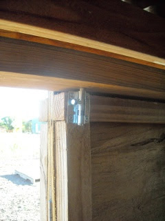 Goat Shed Redesign Main Door Top Bolt Latch