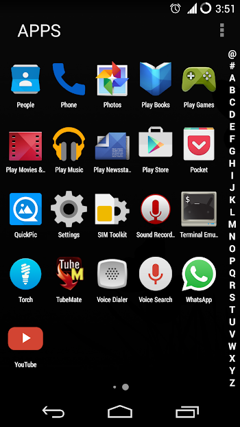 Marshmallow Launcher- screenshot