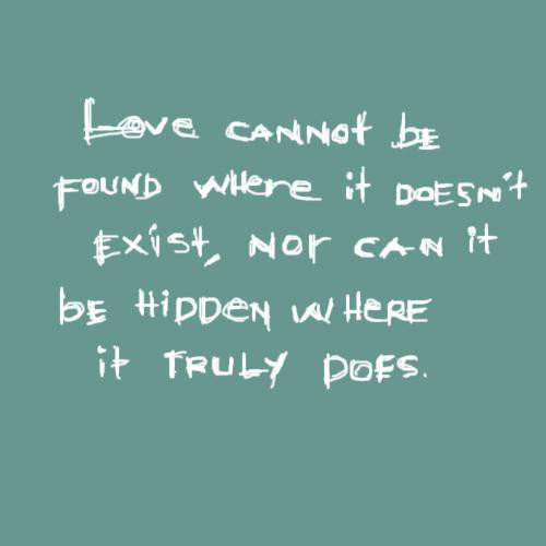 Quotes About Love Doesnt Exist