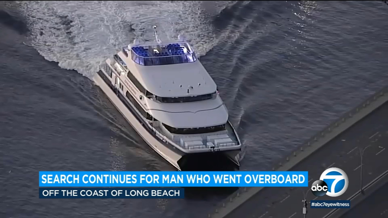 Search continues for missing Catalina ferry passenger off Long Beach coast
