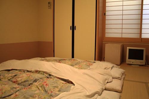 Our room in Kyoto ryokan, Towa