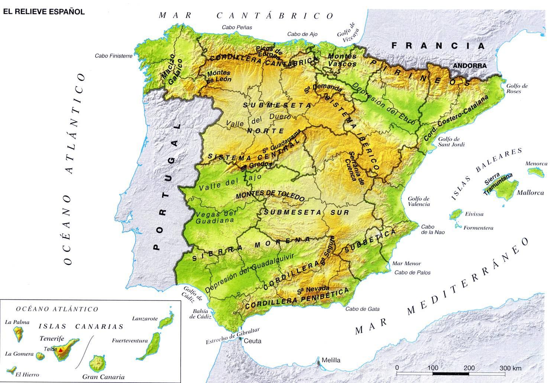 Golfo De Vizcaya Mapa.Golfo De Leon Mapa Fisico Mapa