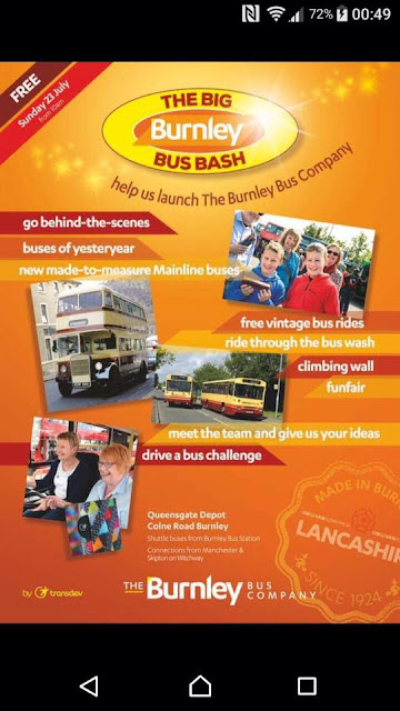 Sunday 23rd July - Burnley