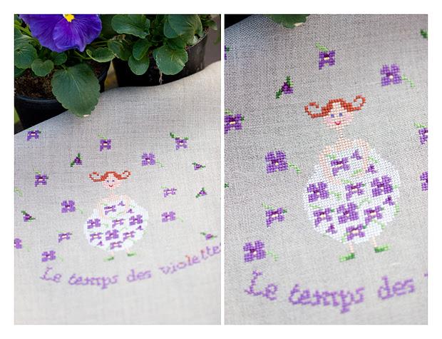 Le temps des violettes (Zaza Picque)