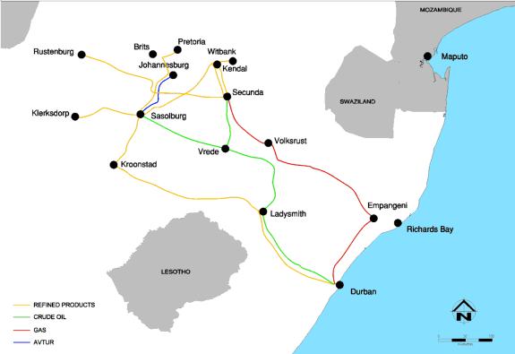 AVTUR Johannesburg Fuel Pipeline