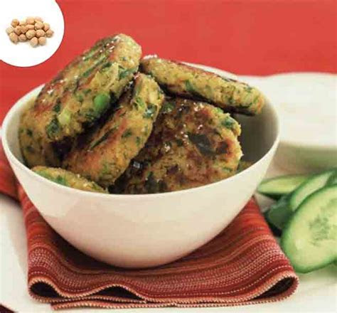 chickpea patty high protein snacks  type  diabetes