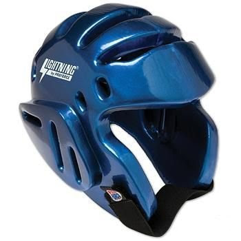 "ProForce Lightning Karate / Martial Arts Headgear (Size:Medium (Head Circ: 21"" - 22"") Color:Blue) by Pro Force"