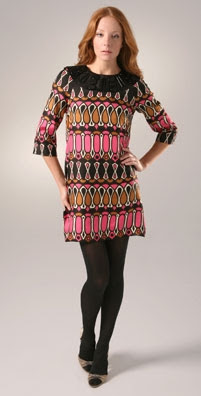 Milly Kaleidoscope Print Shift Dress