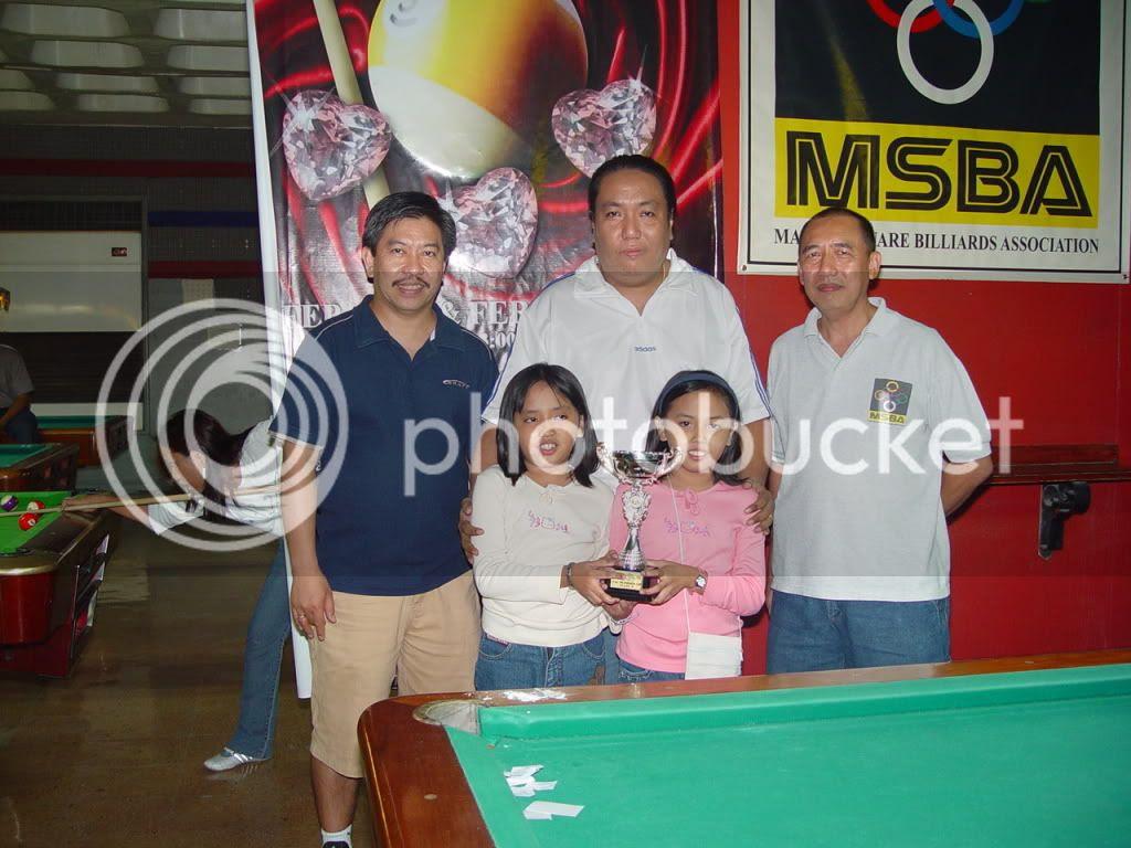 AnitoKid Billiards Championship Win Graphic