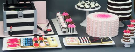Sweet 16 Makeup Birthday Party   Patisserie Tillemont