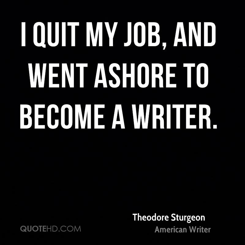 Theodore Sturgeon Quotes Quotehd