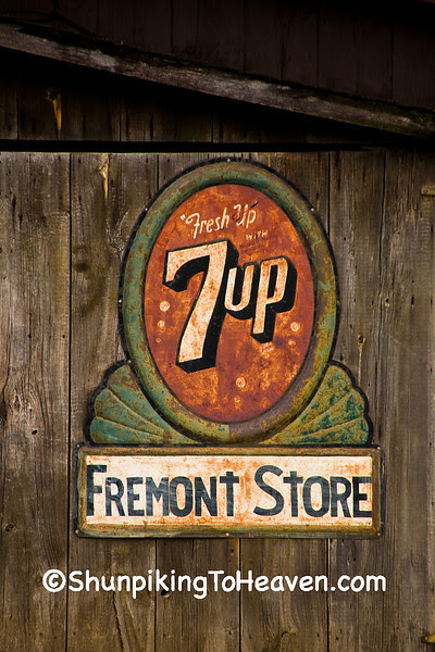 7-Up Sign at the Fremont General Store, Winona County, Minnesota